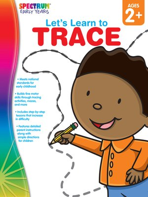 cover image of Let's Learn to Trace, Grades Toddler - PK