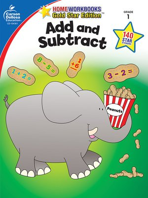 cover image of Add and Subtract, Grade 1