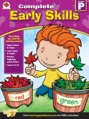 cover image of Early Skills, Grade PK