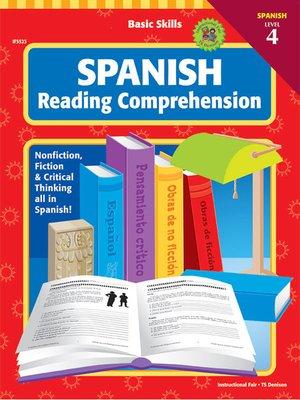 cover image of Basic Skills Spanish Reading Comprehension, Level 4, Grades 6 - 12