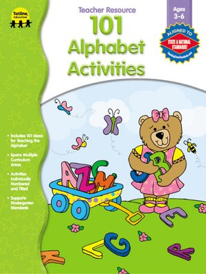 cover image of 101 Alphabet Activities