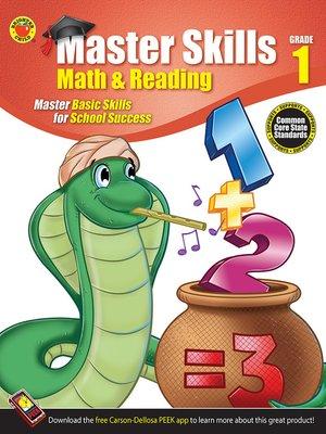 Math & Reading Workbook, Grade 1 by Brighter Child