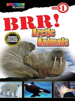 cover image of BRR! Arctic Animals