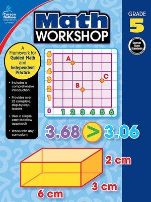 cover image of Math Workshop, Grade 5