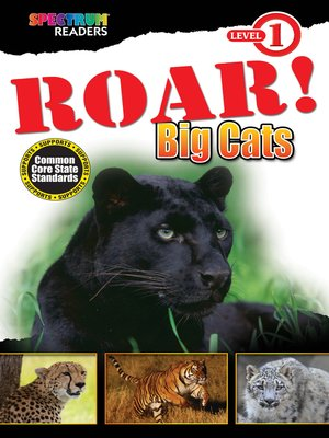 cover image of ROAR! Big Cats