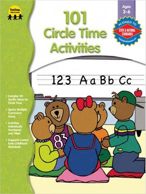 cover image of 101 Circle Time Activities