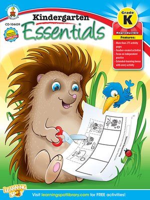 cover image of Kindergarten Essentials, Grade K