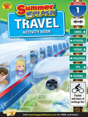 cover image of Summer Splash Travel Activity Book, Grade 1