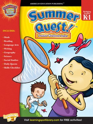 cover image of Summer Quest™, Grades K - 1