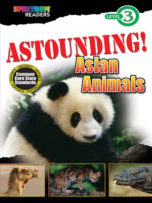 cover image of ASTOUNDING! Asian Animals