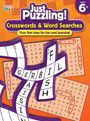 cover image of Crosswords & Word Searches, Grades 1 - 3