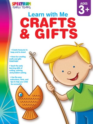 cover image of Crafts & Gifts, Grades Preschool - K