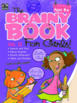 cover image of Brainy Book for Girls, Volume 2 Activity Book