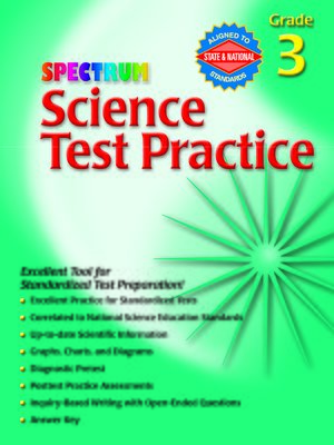 cover image of Science Test Practice, Grade 3