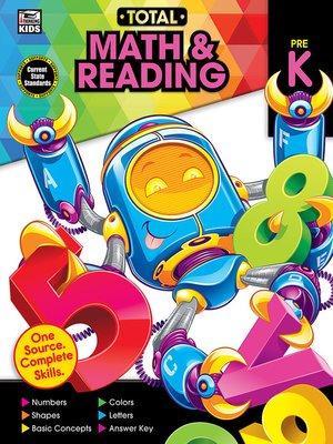 cover image of Total Math and Reading, Grade PK