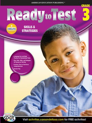 cover image of Ready to Test, Grade 3