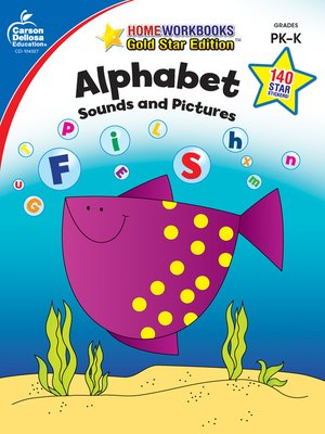 cover image of Alphabet, Grades PK--K - Sounds and Pictures