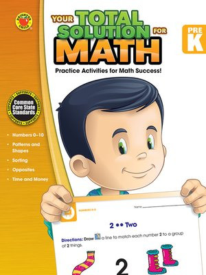 cover image of Your Total Solution for Math, Grade PK