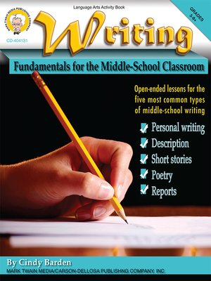 cover image of Writing, Grades 5 - 8+