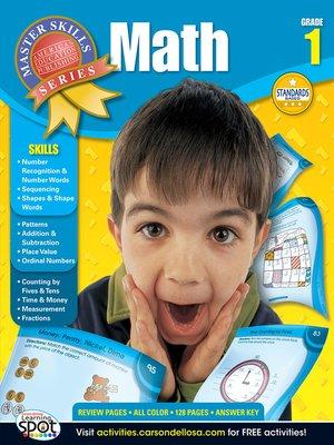 cover image of Math, Grade 1