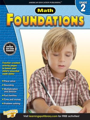 cover image of Math Foundations, Grade 2