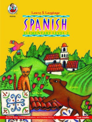 cover image of Spanish, Grade 2
