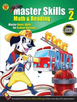 cover image of Math & Reading Workbook, Grade 2