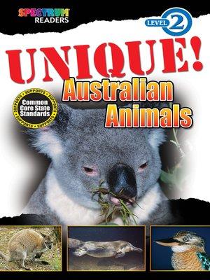 cover image of UNIQUE! Australian Animals