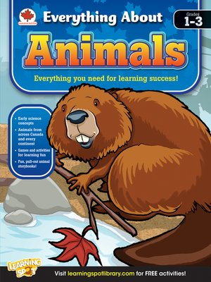 cover image of Animals, Grades 1 - 3