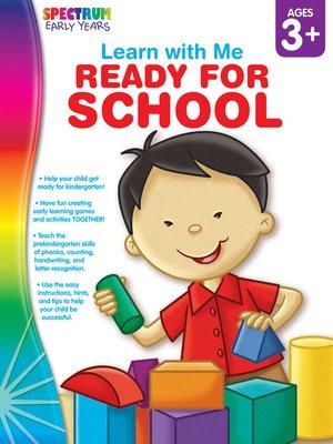 cover image of Ready for School, Grades Preschool - K