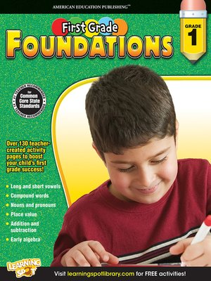 cover image of First Grade Foundations, Grade 1