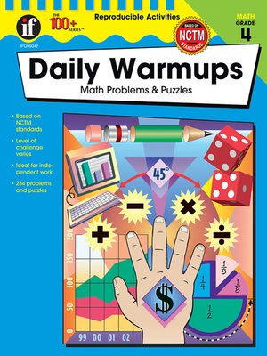 cover image of Daily Warmups, Grade 4