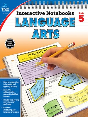 cover image of Language Arts, Grade 5