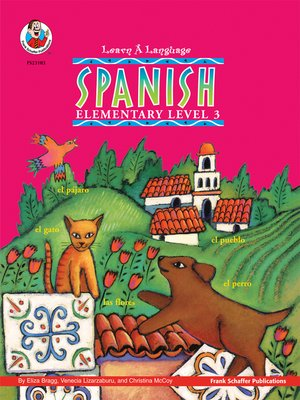 cover image of Learn-A-Language Books Spanish, Grade 3
