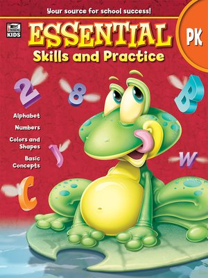 cover image of Essential Skills and Practice, Grade PK