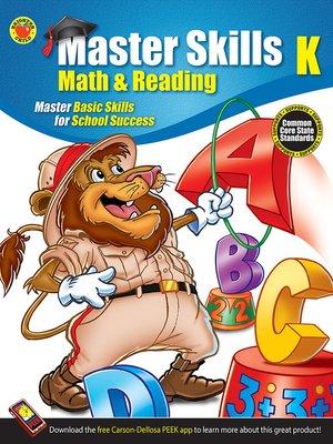 cover image of Math & Reading Workbook, Grade K