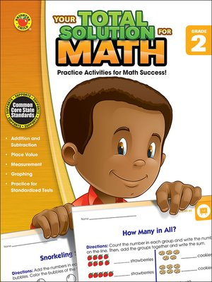 cover image of Your Total Solution for Math, Grade 2