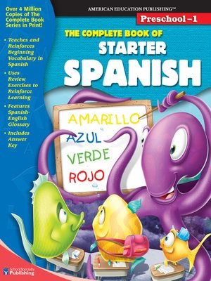 cover image of The Complete Book of Starter Spanish, Grades Preschool - 1