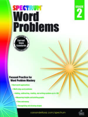 cover image of Word Problems, Grade 2
