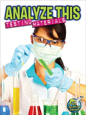cover image of Analyze This