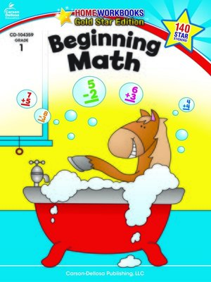 cover image of Beginning Math, Grade 1