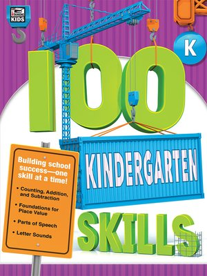 cover image of 100 Kindergarten Skills