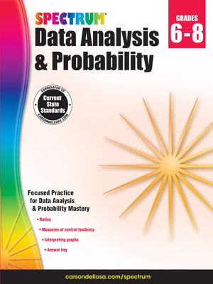 cover image of Spectrum Data Analysis and Probability