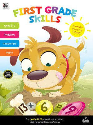 cover image of First Grade Skills