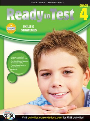 cover image of Ready to Test, Grade 4