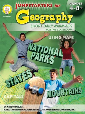 cover image of Jumpstarters for Geography