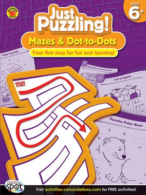 cover image of Mazes & Dot-to-Dots, Grades 1 - 3