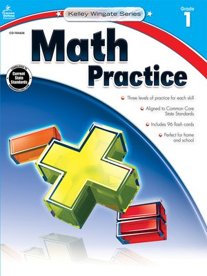 cover image of Math Practice, Grade 1