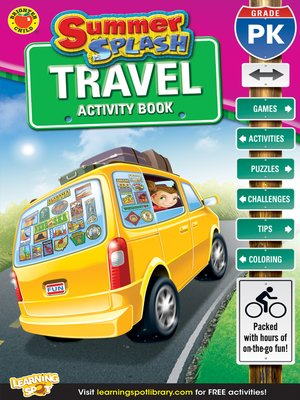 cover image of Summer Splash Travel Activity Book, Grade PK