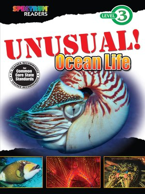 cover image of UNUSUAL! Ocean Life
